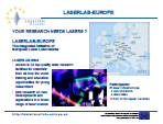 Laserlab-Europe presentation - 1 slide