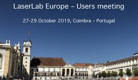 Announcement: Laserlab User Meeting, Coimbra, Portugal, 27-29 October 2019